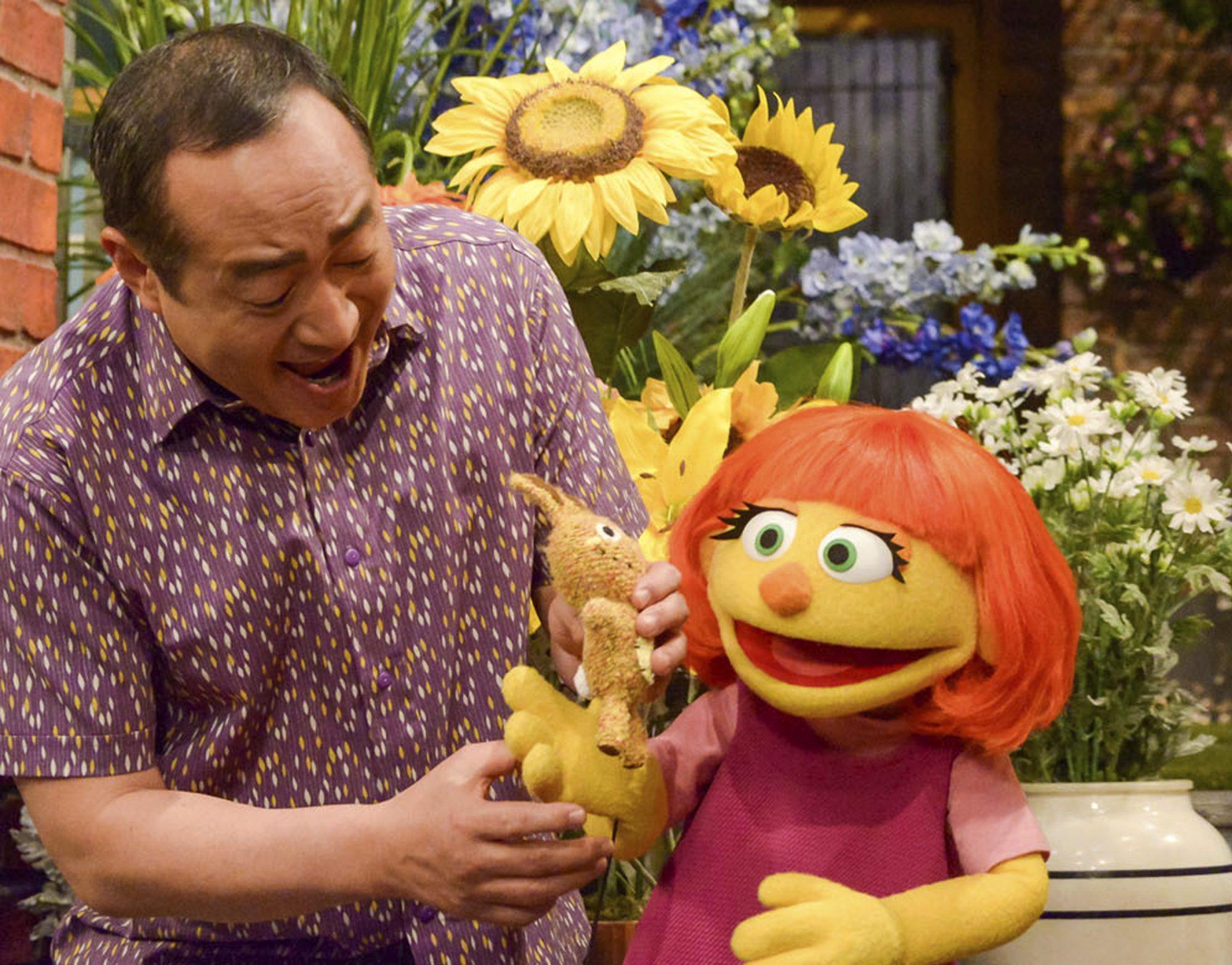 Julia de Sesame Workshop
