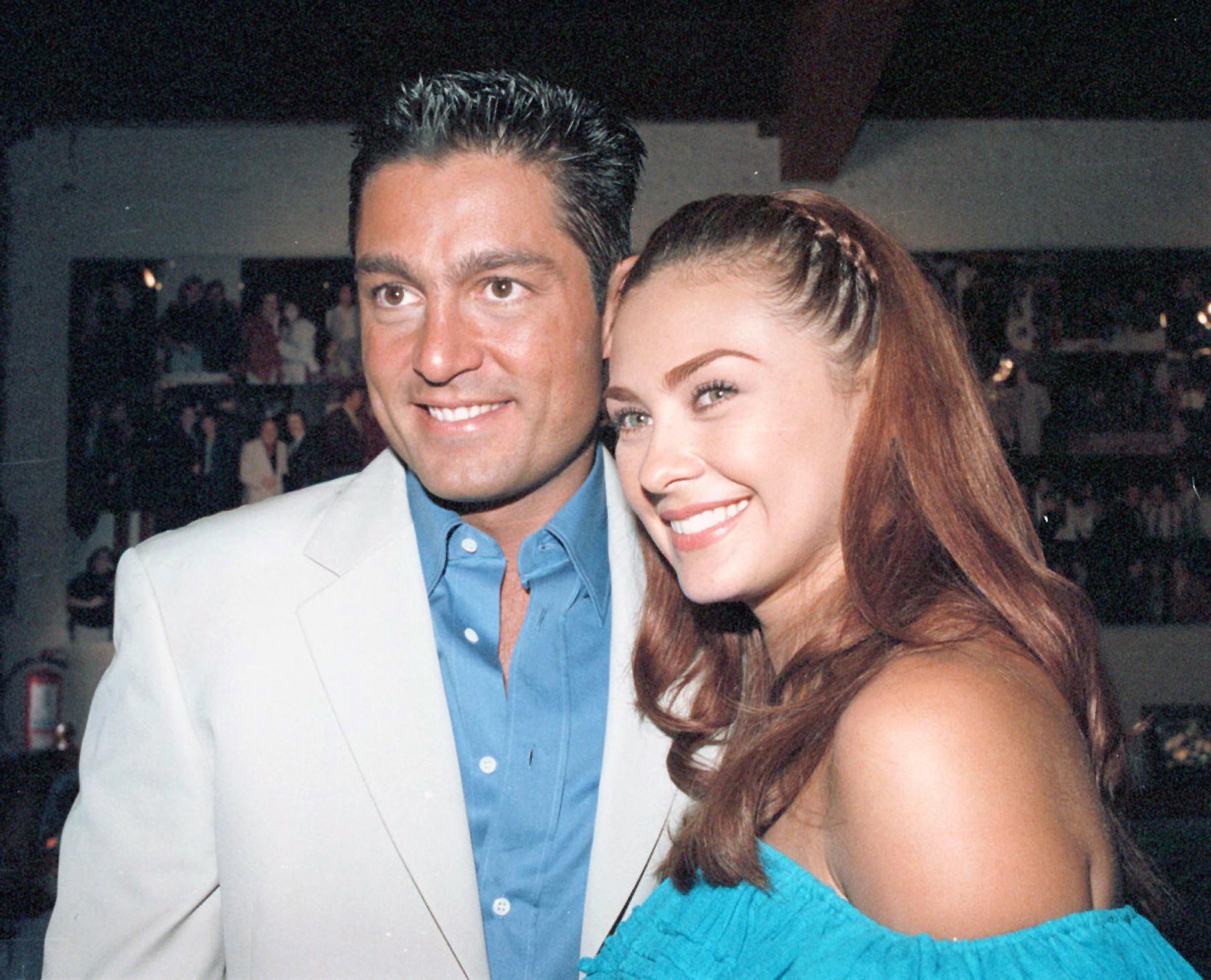 Aracely Arámbula y Fernando Colunga