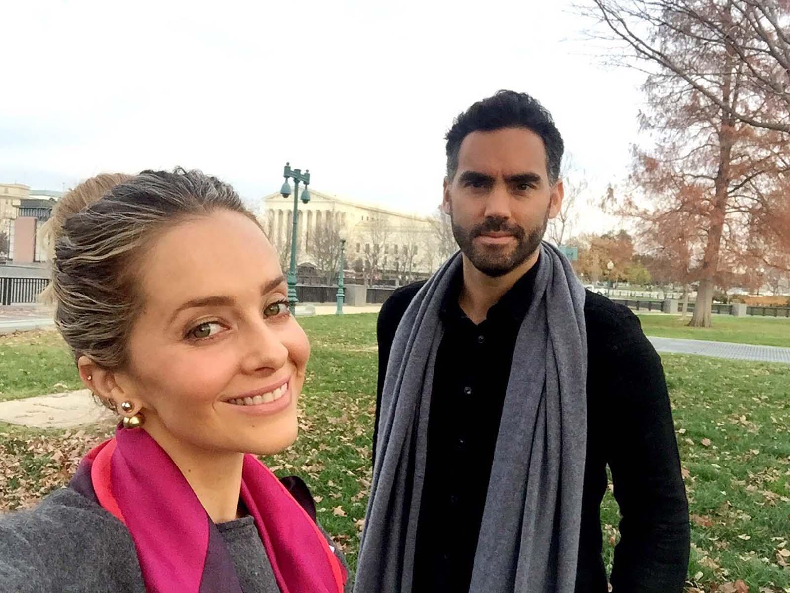 Enrique Acevedo y Esposa
