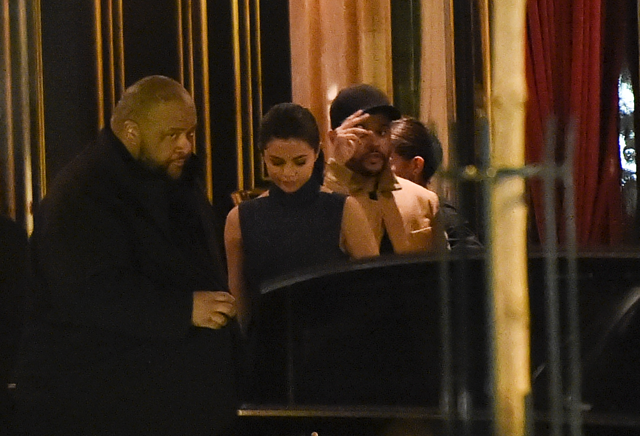 Selena Gomez And The Weeknd Step Out For Date Night In Paris Just Blocks From Bella's Hotel