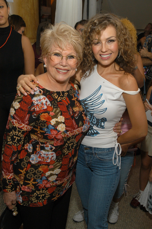 Thalia y Mama