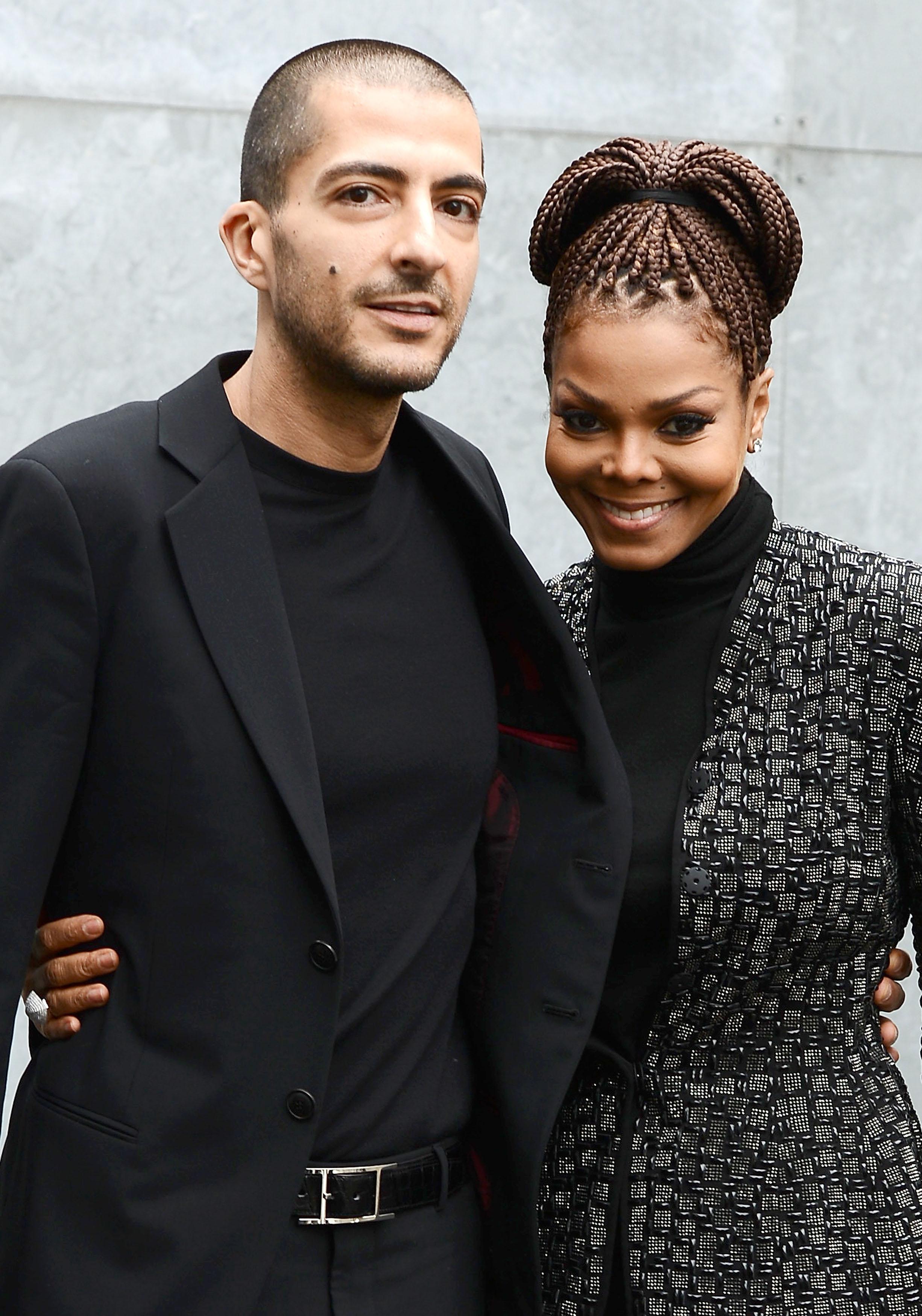 Wissam al Mana y Janet Jackson