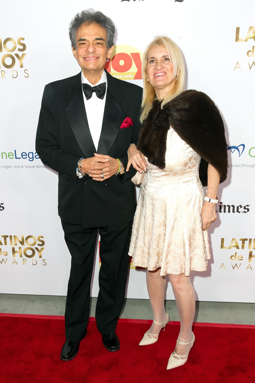 Jose Jose y su esposa