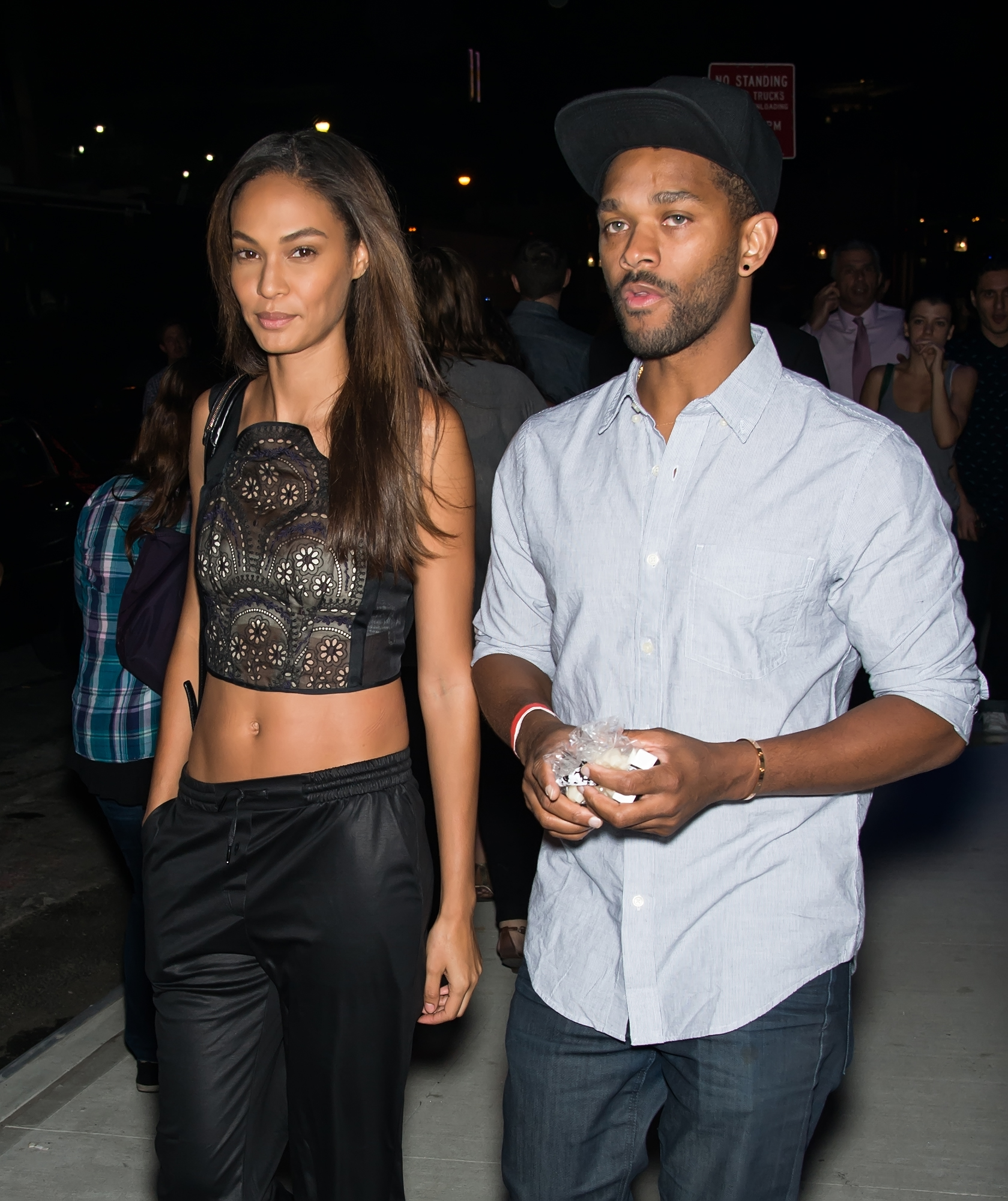 Joan Smalls y Bernard Smith