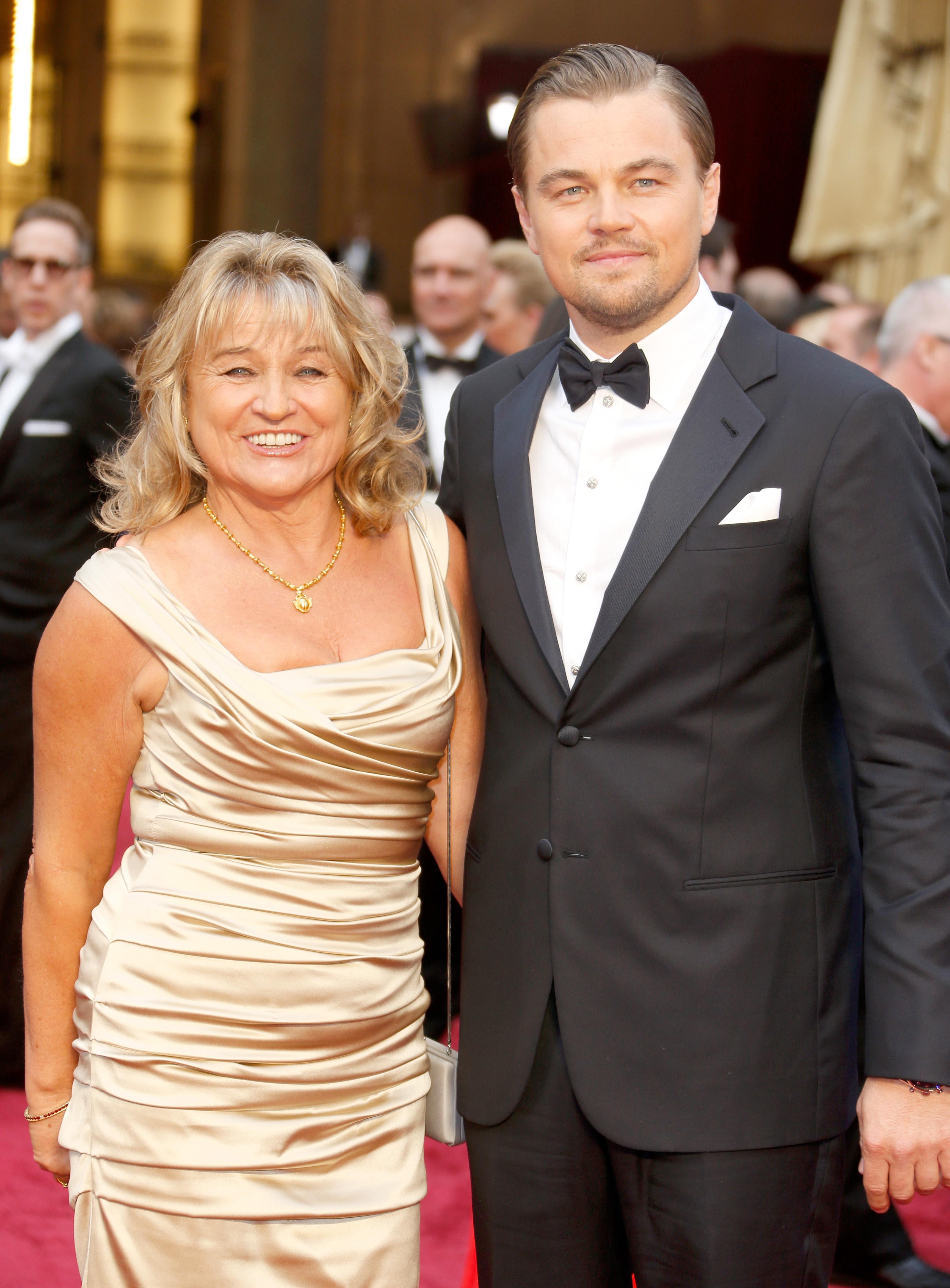 Irmelin Indenbirken y Leonardo DiCaprio