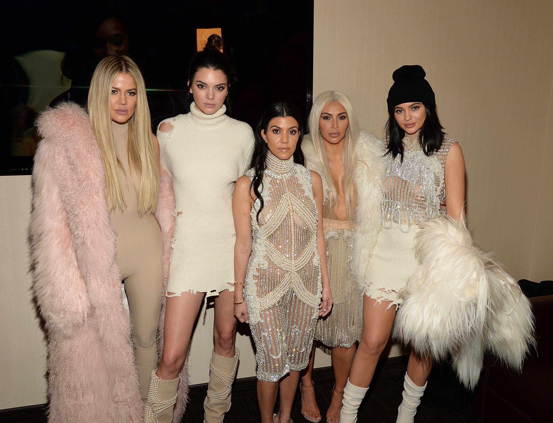 Khloe Kardashian, Kendall Jenner, Kourtney Kardashian, Kim Kardashian West y Kylie Jenner
