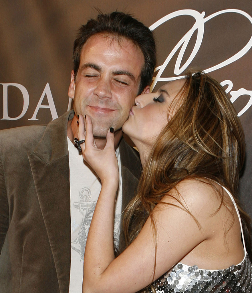 Carlos Ponce and Genisi Rodriguez