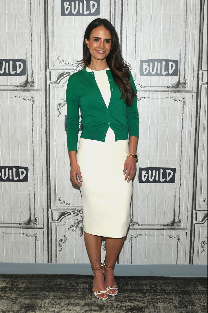 Build Series Presents Jordana Brewster Discussing Her New Partnership Called Allergy Face