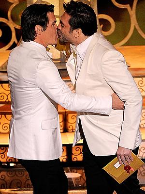 Javier Bardem y Josh Brolin en el Oscar