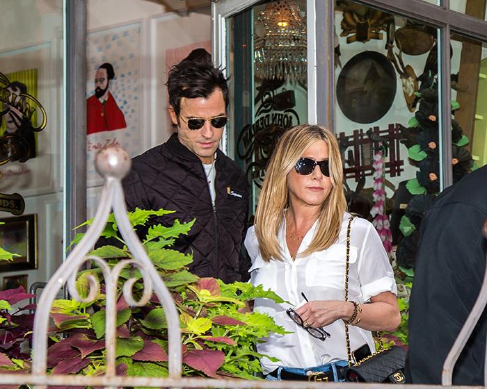 Justin Theroux , Jennifer Aniston