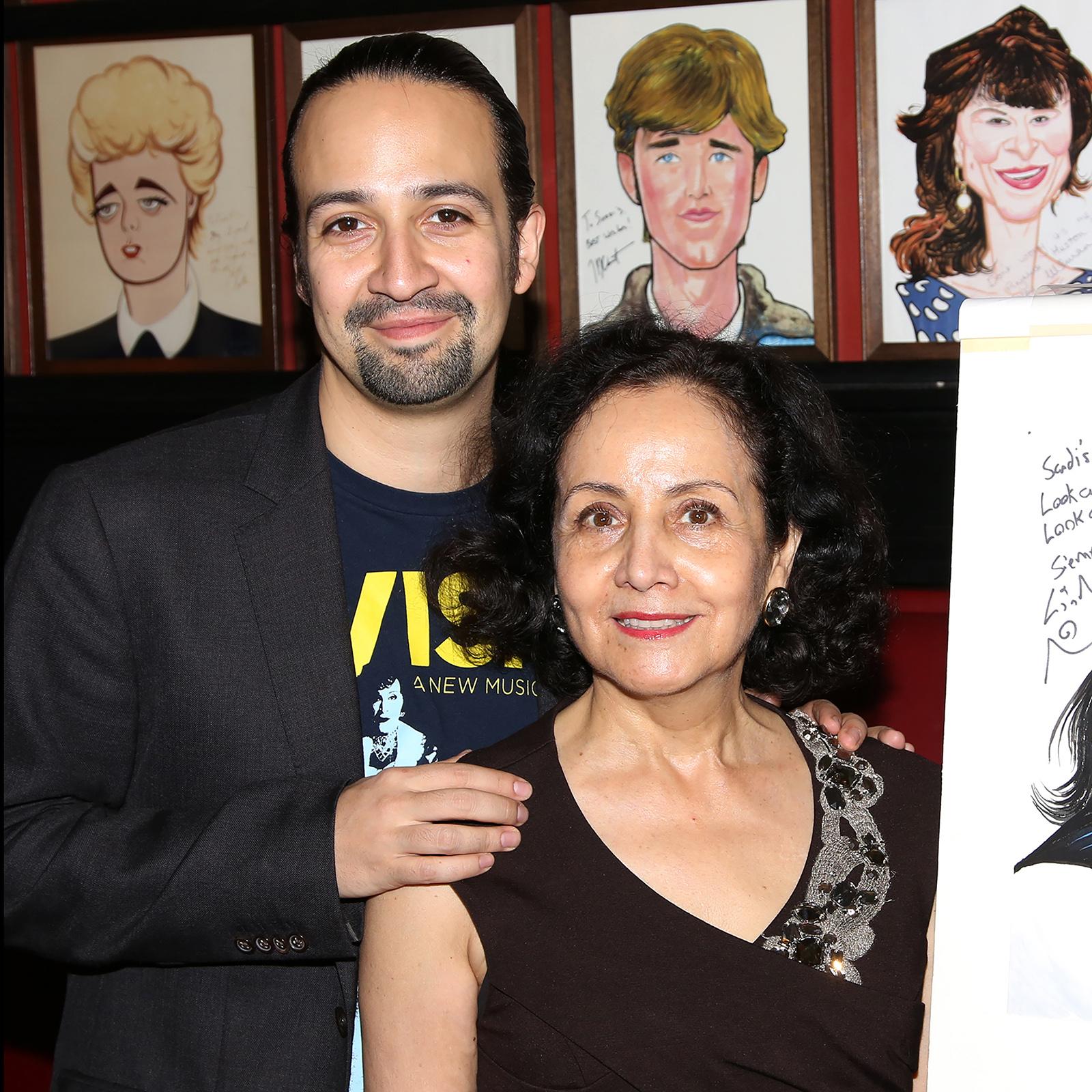 Lin-Manuel Miranda y su mamá Luz Towns-Miranda