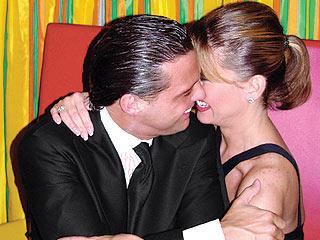 Fue esta foto la que oficializó el romance entre Dellanos y Luis Miguel.