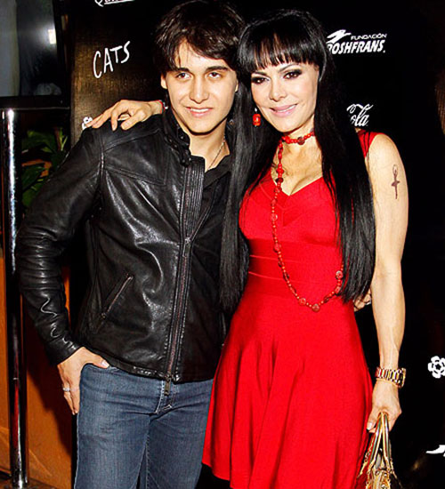 Maribel Guardia y Julián Figueroa