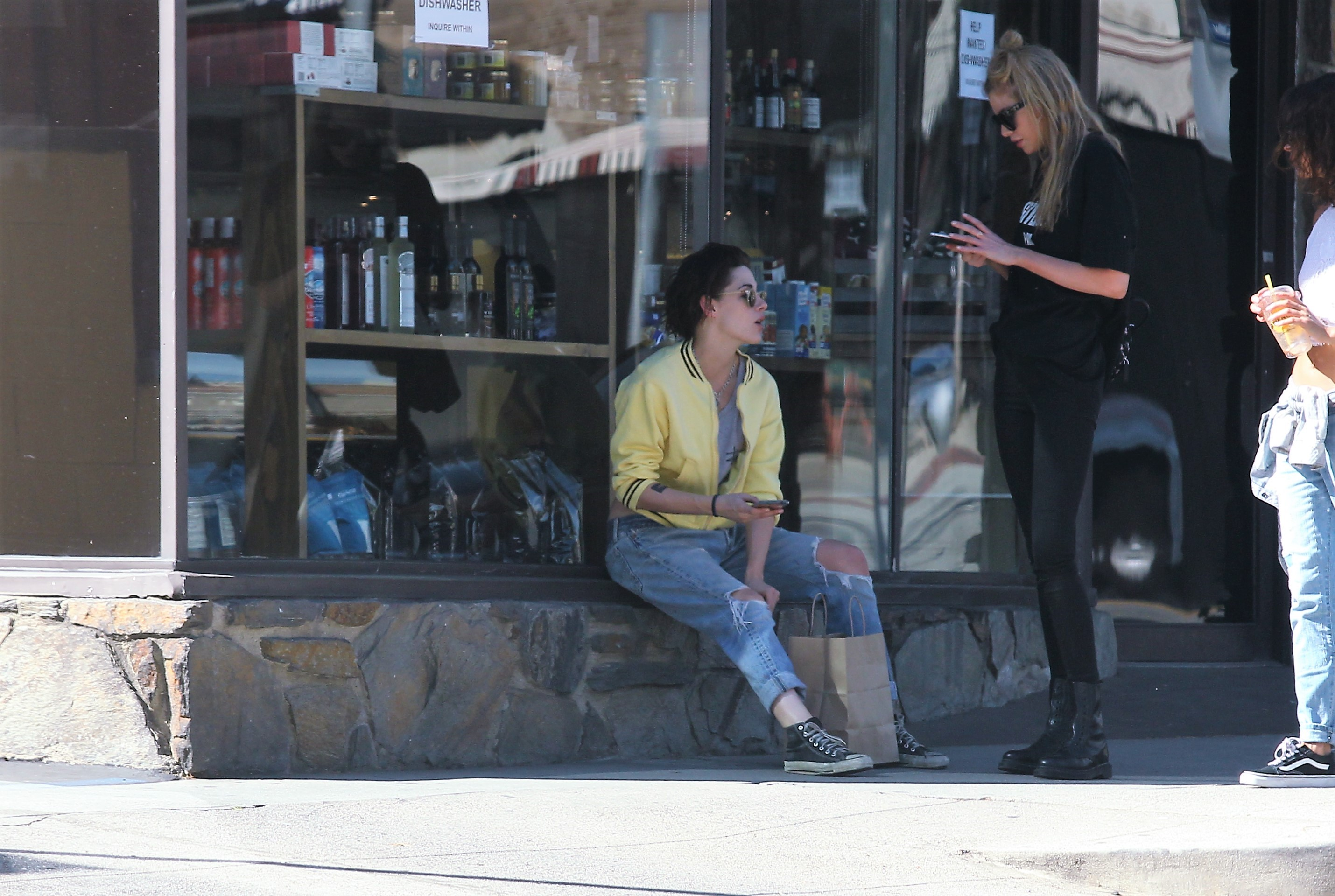 EXCLUSIVE Couple Kristen Stewart And Stella Maxwell Reunite After A Hectic Fashion Week