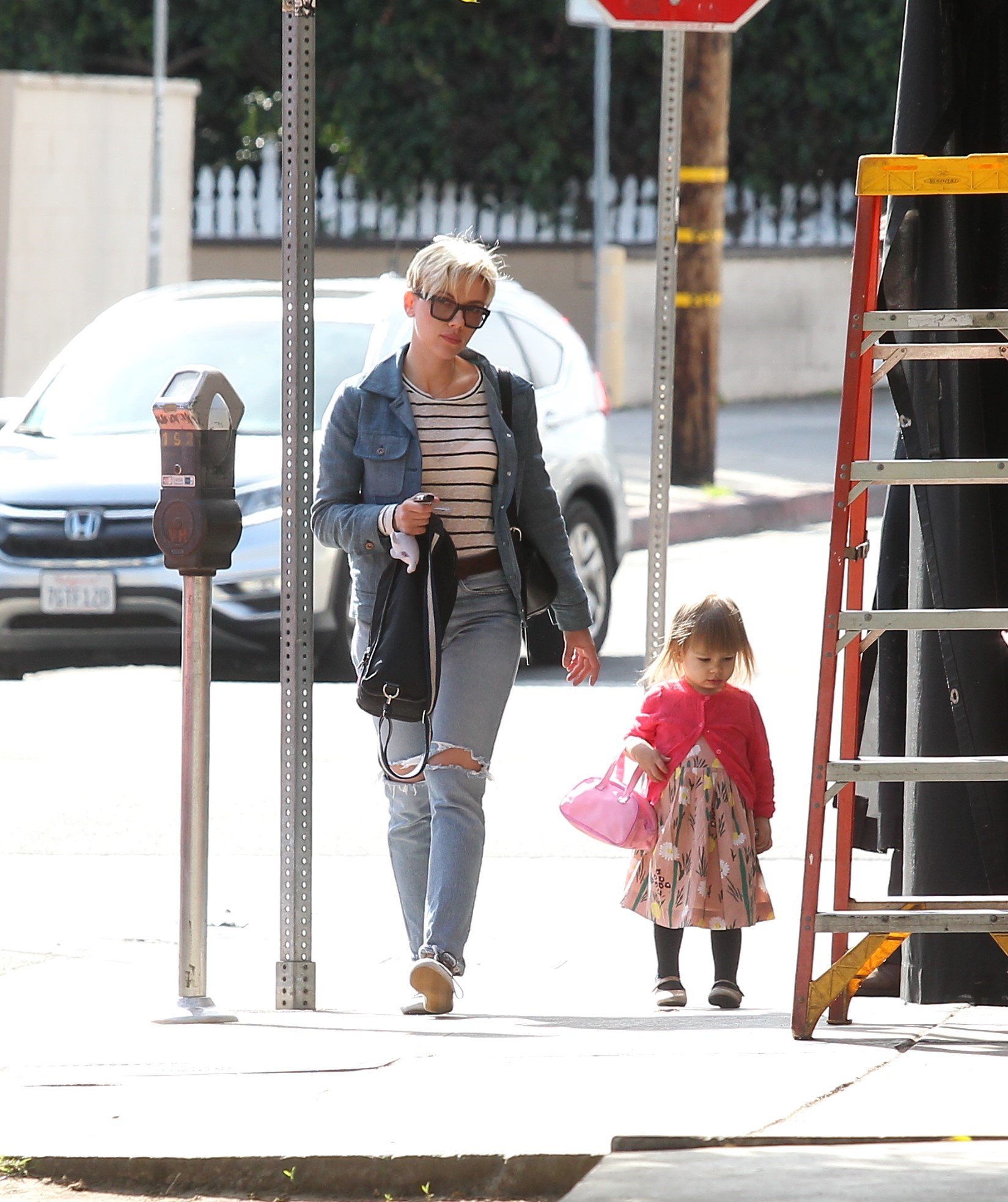 EXCLUSIVE Scarlett Johansson Enjoys A Lovely Mother-Daughter Day With Rose