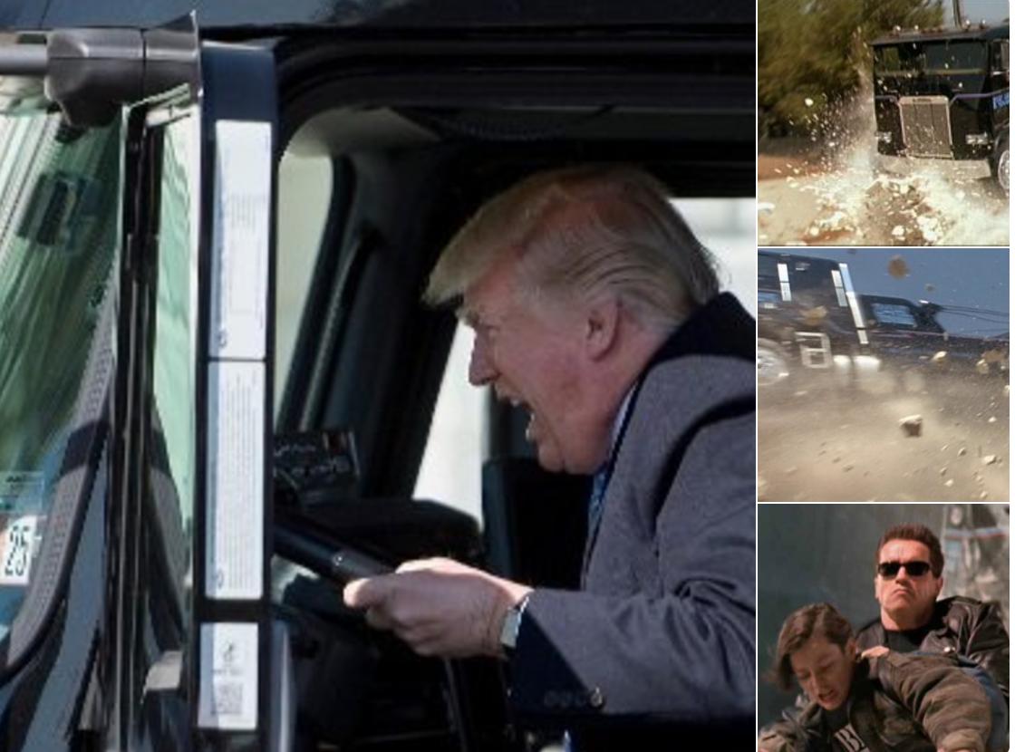 Memes Trump trailer