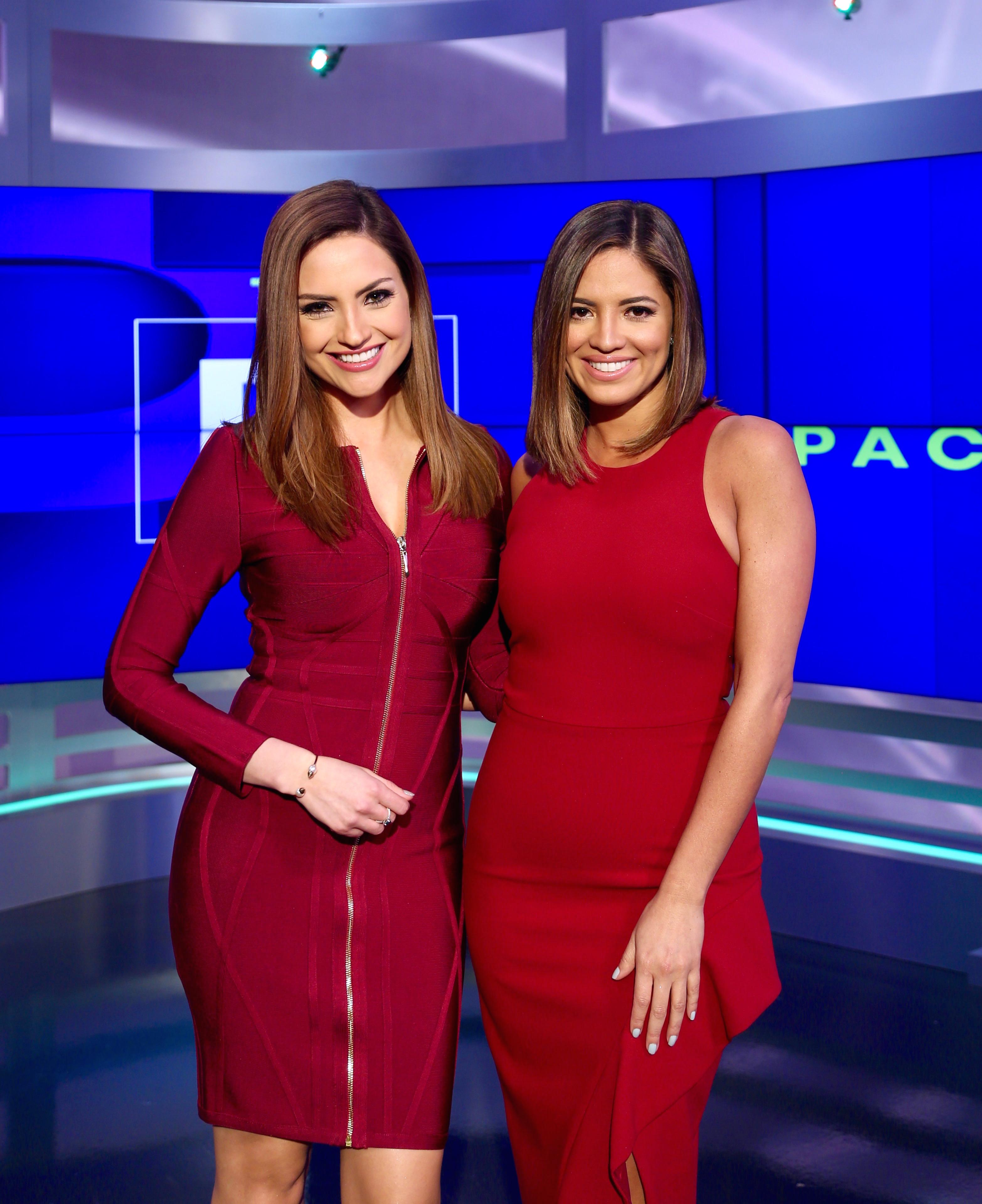 Pamela Silva-Conde y Michelle Galván