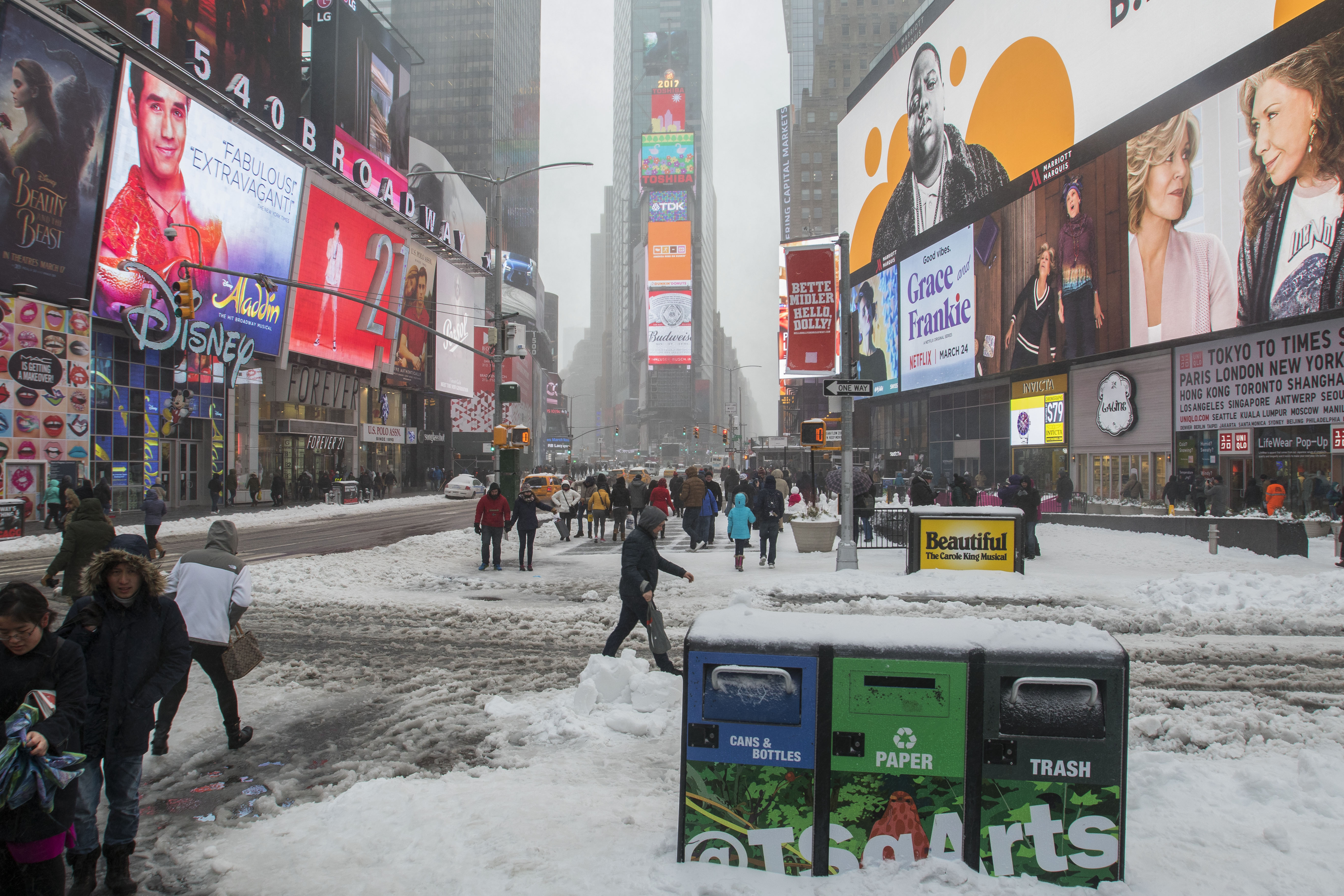 Tormenta Stella Nueva York