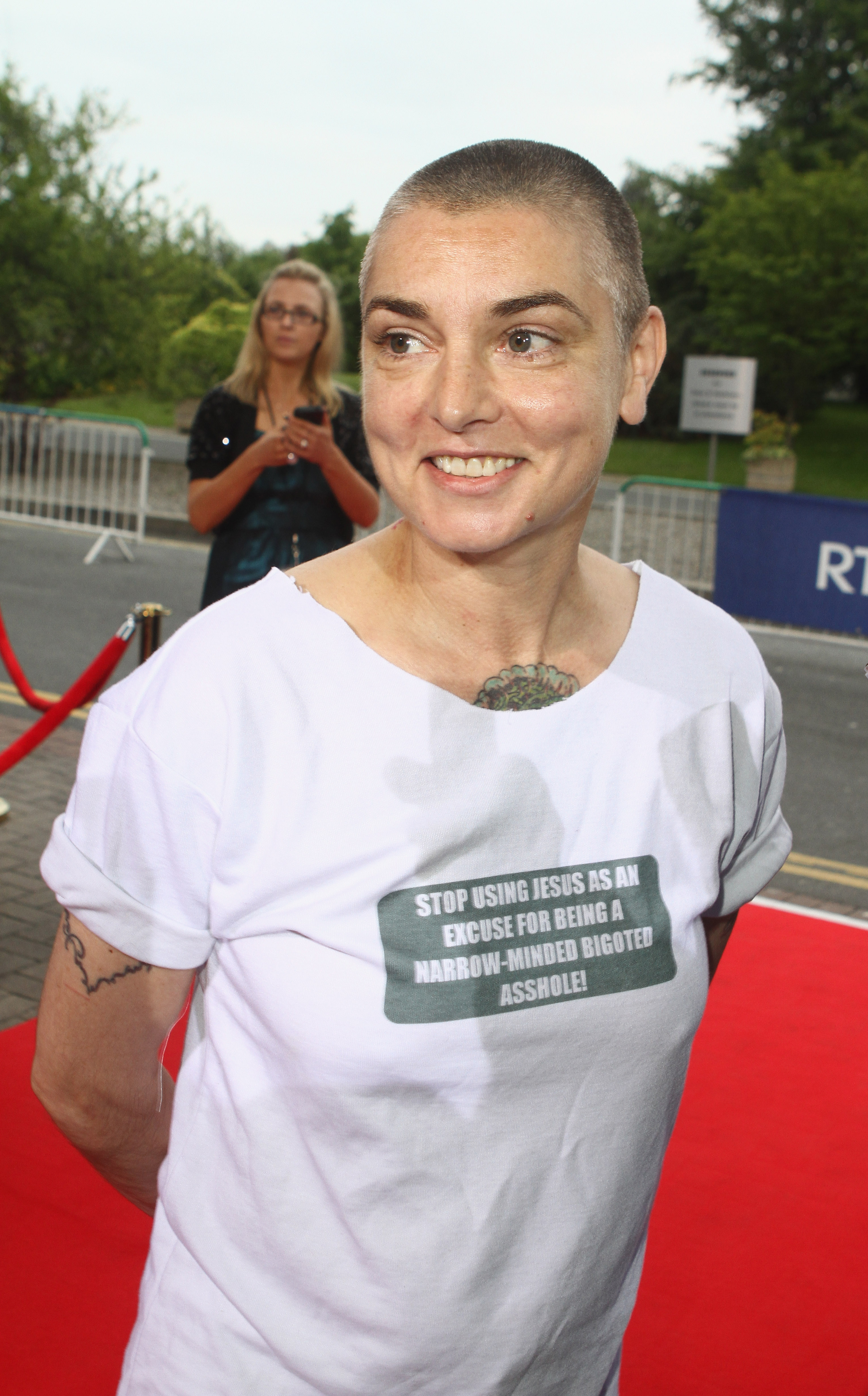Celebrity Sightings At 50th Anniversary Of 'The Late Late Show' In Dublin - June 1, 2012