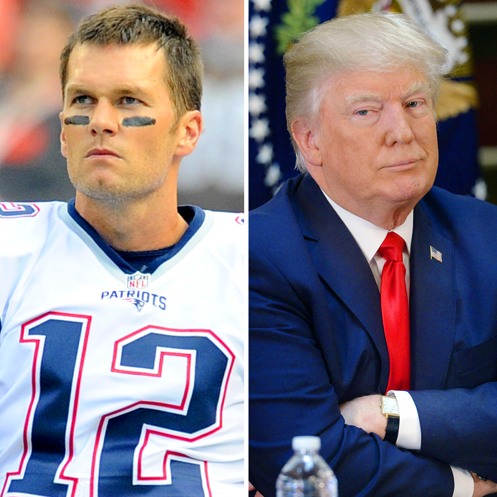 Tom Brady y Donald Trump