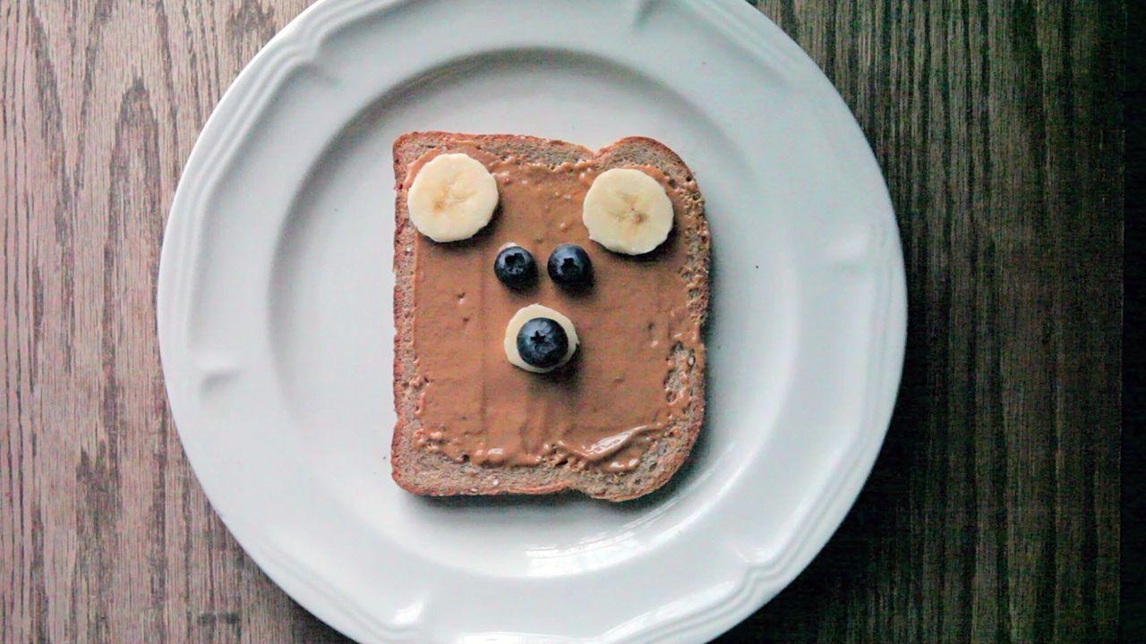 Oso de pan para niños