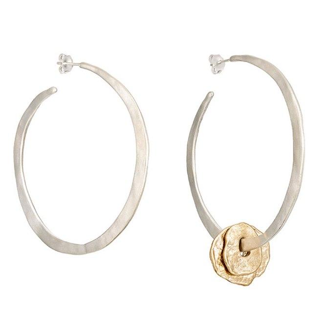 Simon Miller x Rebecca pinto XL Hoop earrings galleryCourtesy Barneys