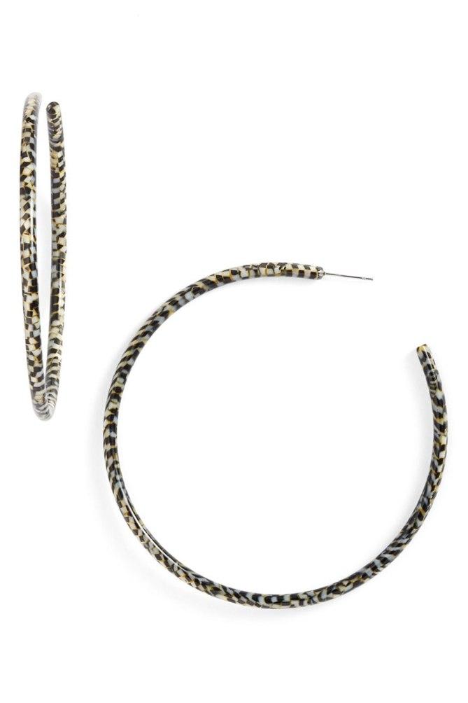 L Erickson XL Hoop earrings gallery Courtesy Nordstrom