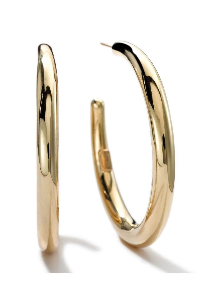 Ippolita XL Hoop earrings gallery Courtesy Bergdorf