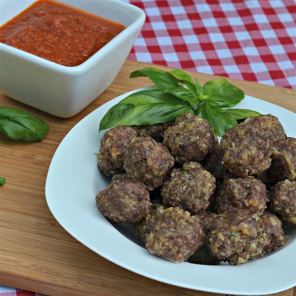 Albóndigas de carne italianas