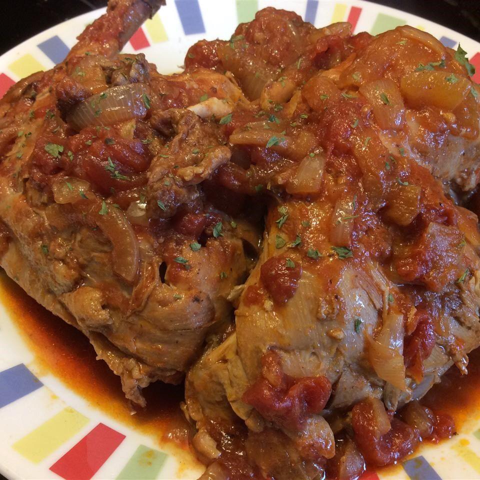 Pollo brasileño al jitomate