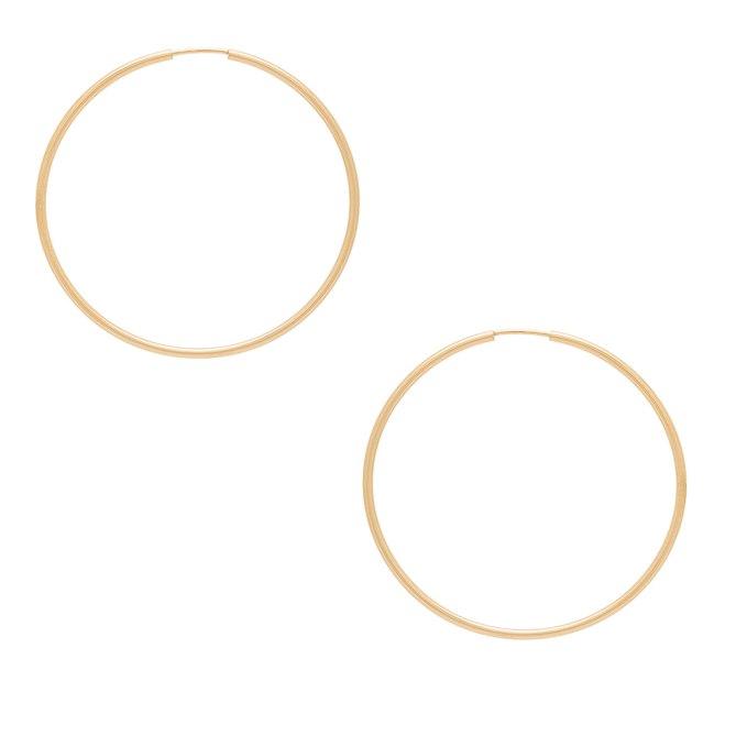 ERTH XL Hoop earrings galleryCourtesy Revolve