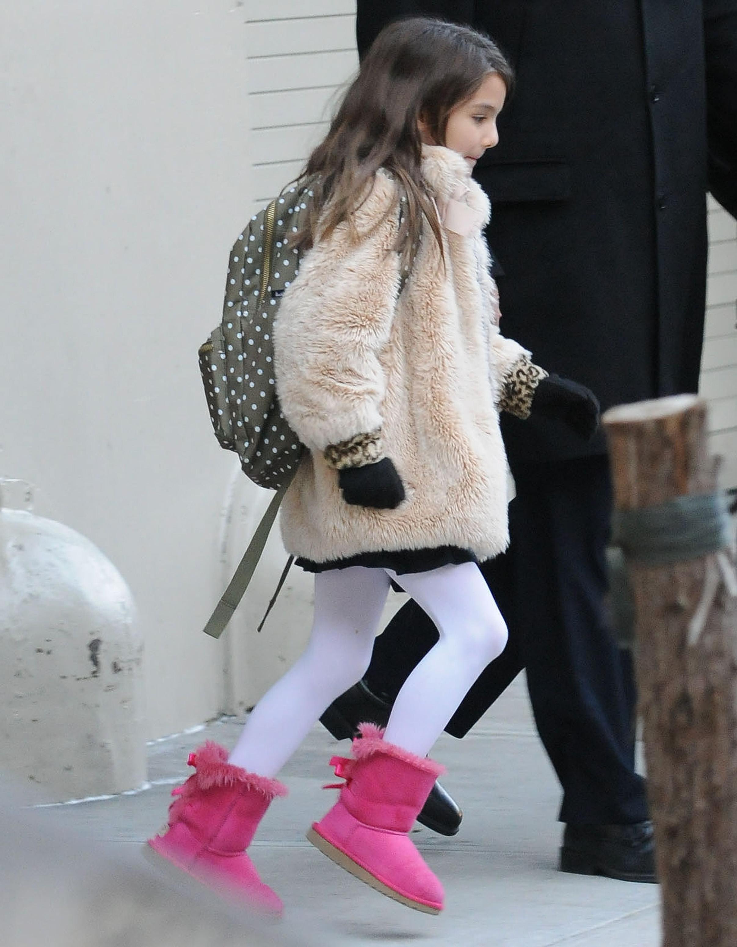 Celebrity Sightings In New York - December 14, 2013