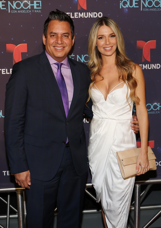 Daniel Sarcos and Alessandra Villegas