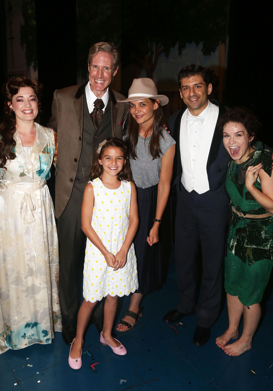 Celebrities Visit Broadway - July 30, 2016
