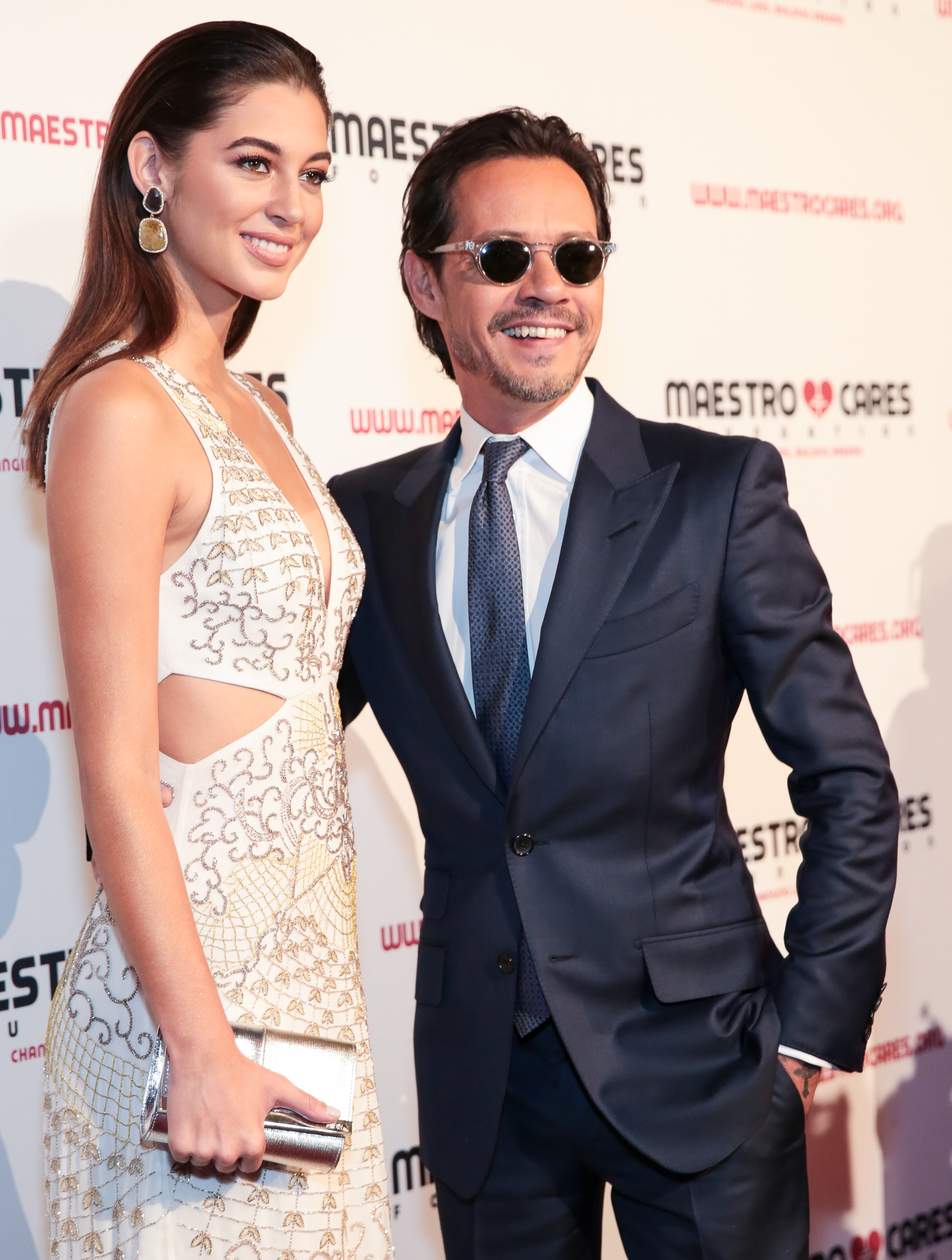 Mariana Downing y Marc Anthony, parejas