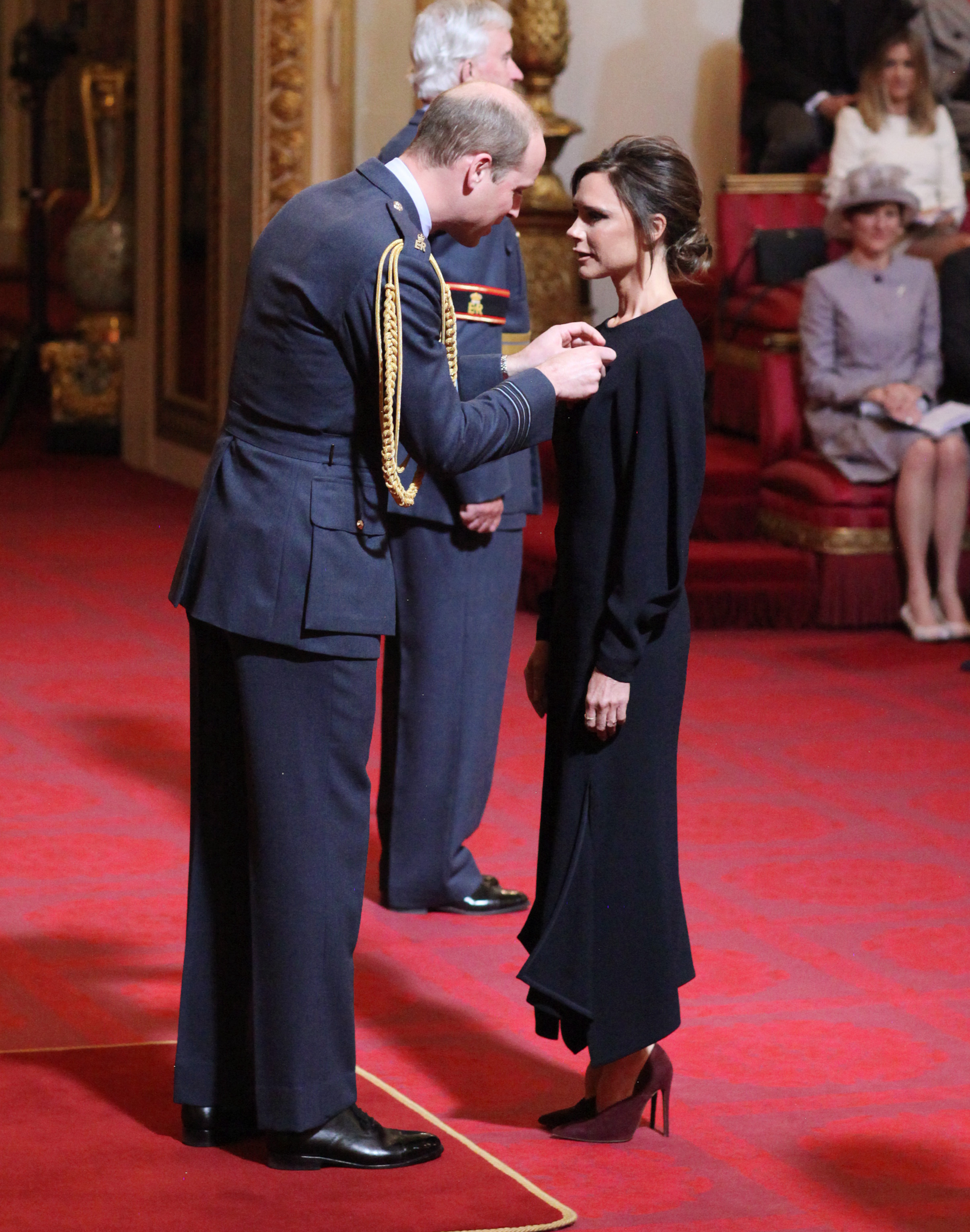 Victoria Beckham and Prince William