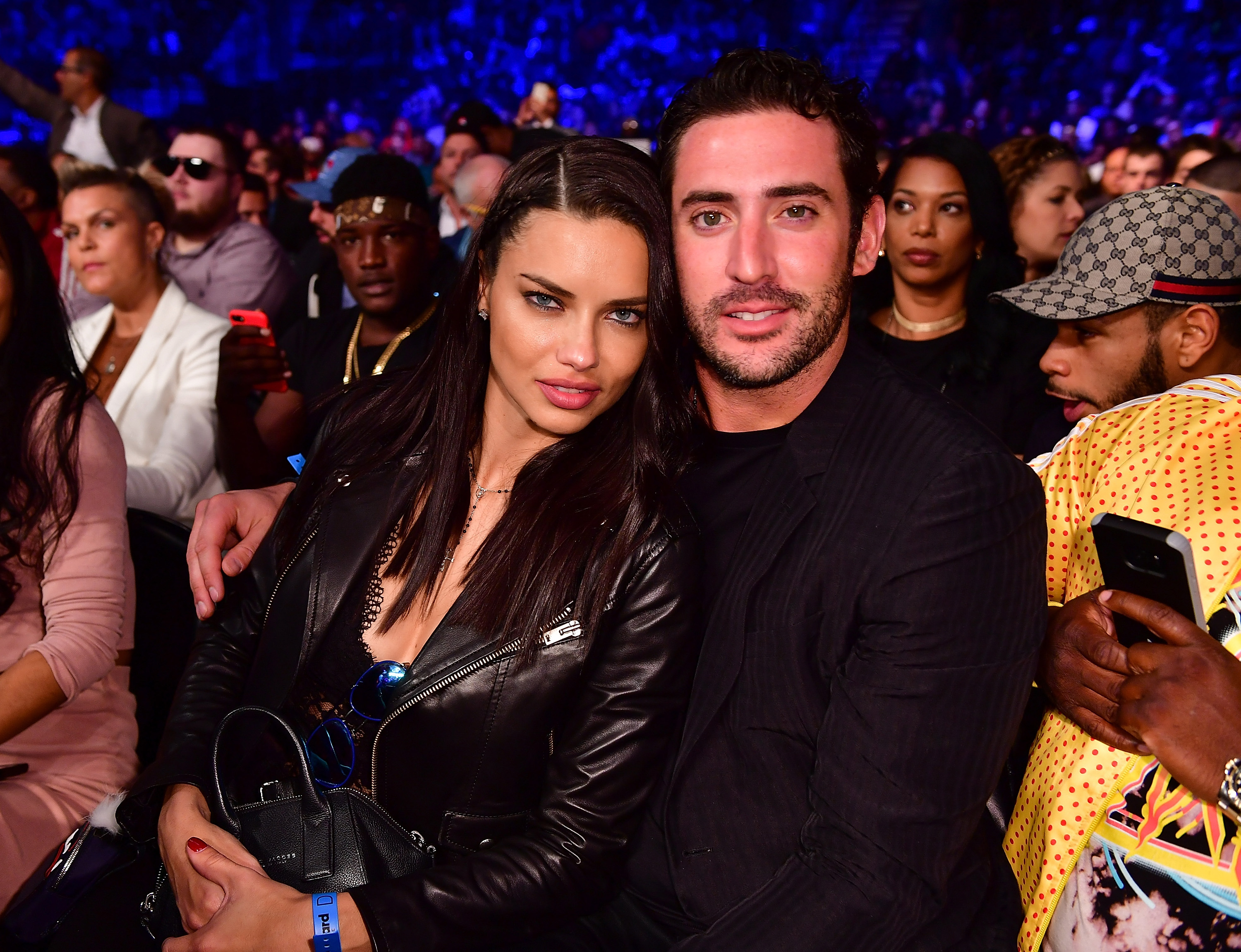 Adriana Lima Matt Harvey