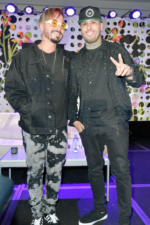 J Balvin y Nicky Jam