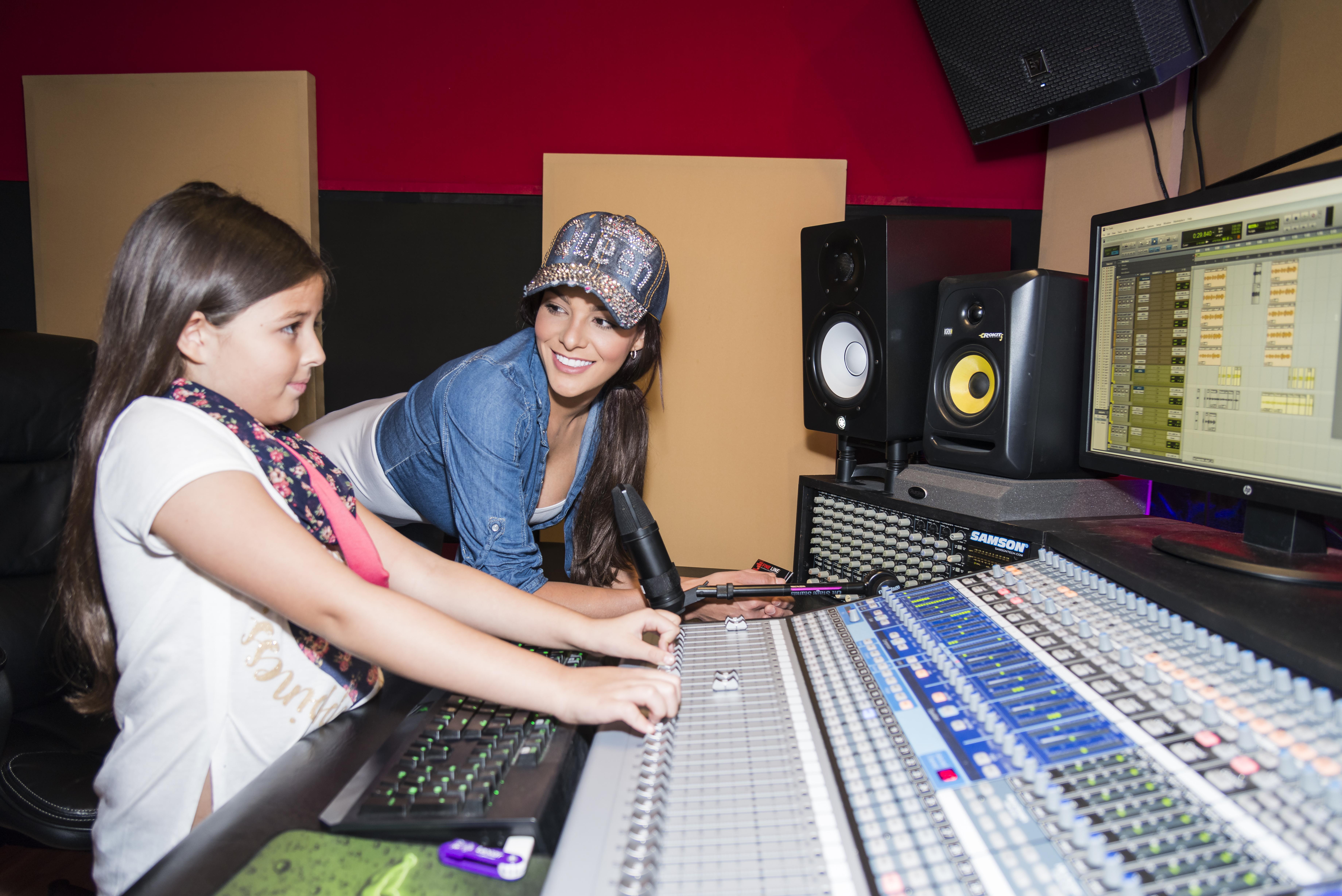 Natalia Casco y su hija