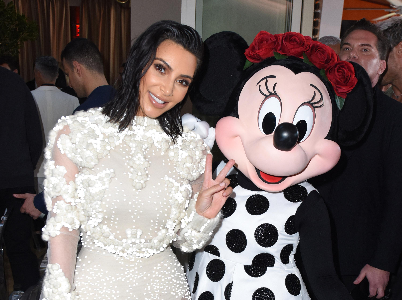 Minnie Mouse at Fashion LA Awards