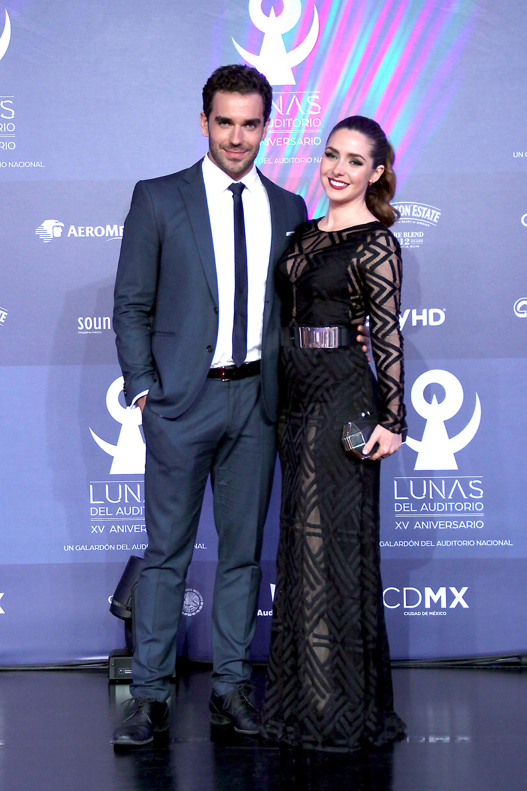 Ariadne Díaz y Marcus Ornellas