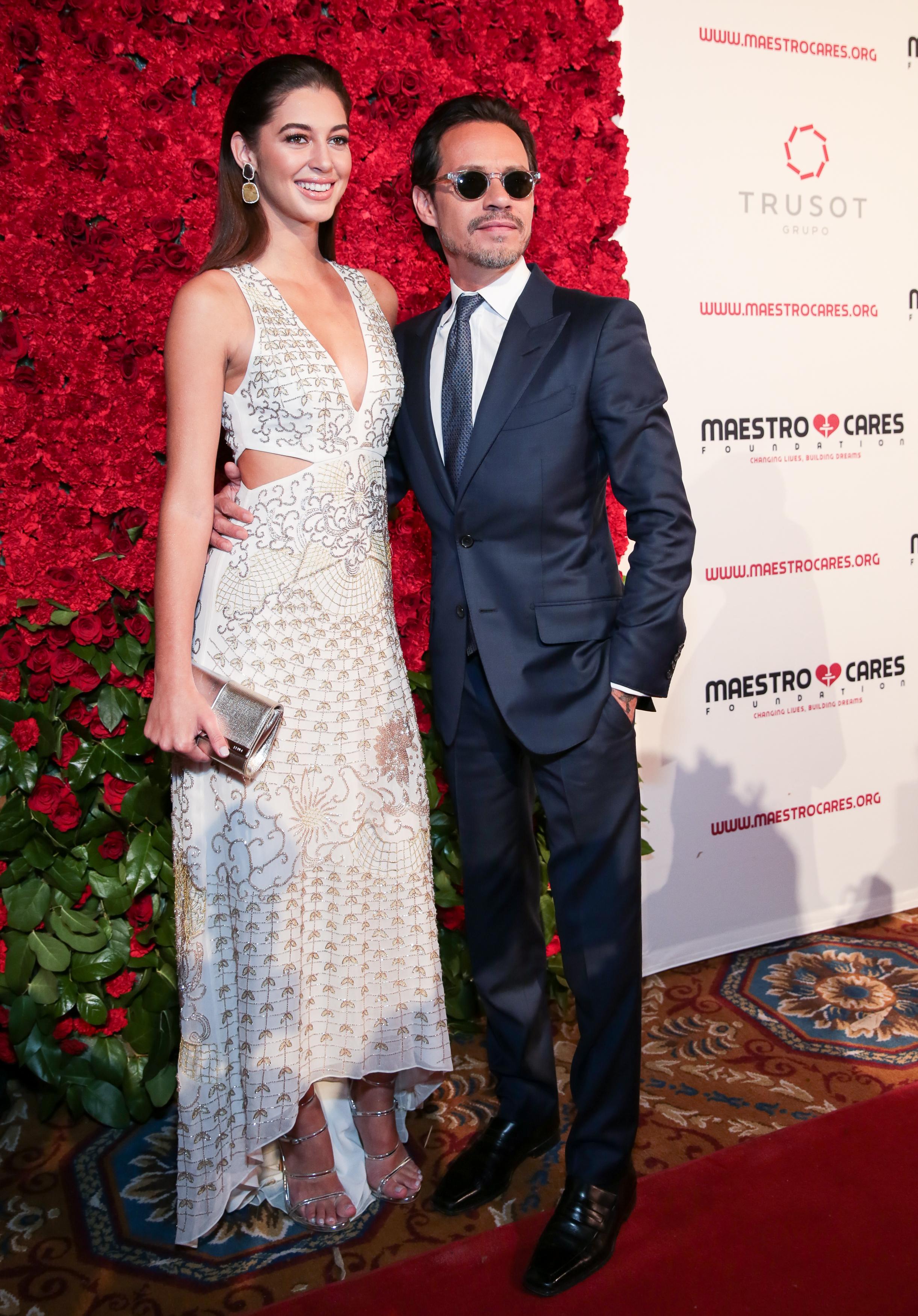 Mariana Downing and Marc Anthony