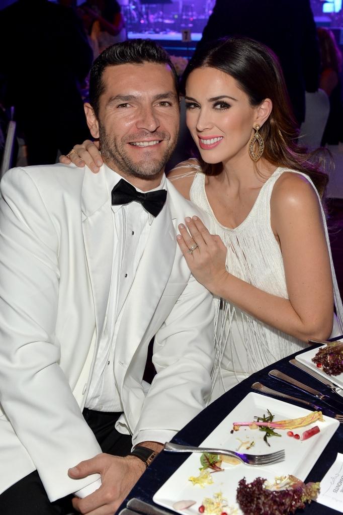 Martín Fuentes y Jacqueline Bracamontes