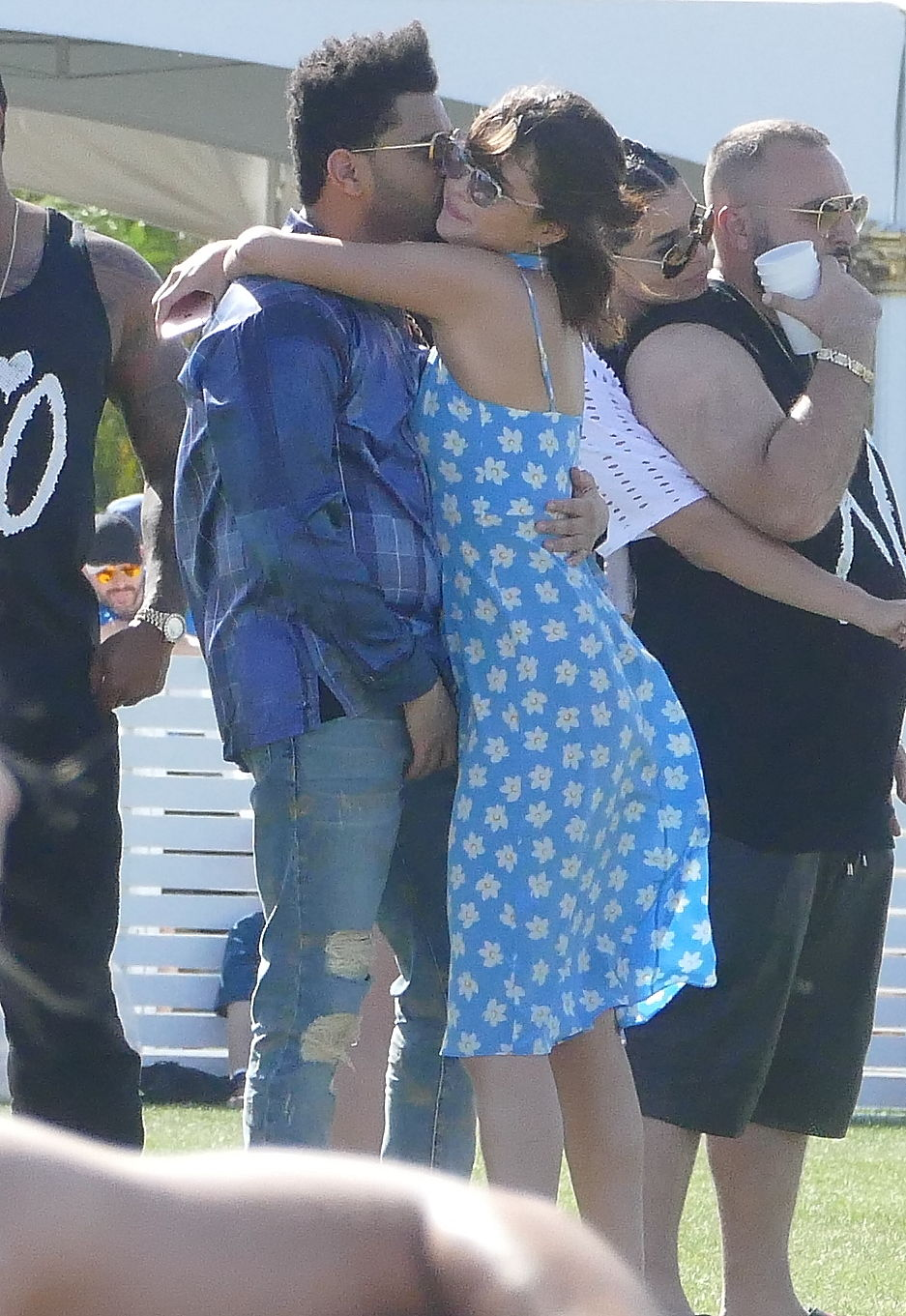 EXCLUSIVE Selena Gomez and The Weeknd Can't Kepp Their Hand of Each Other in Coachella