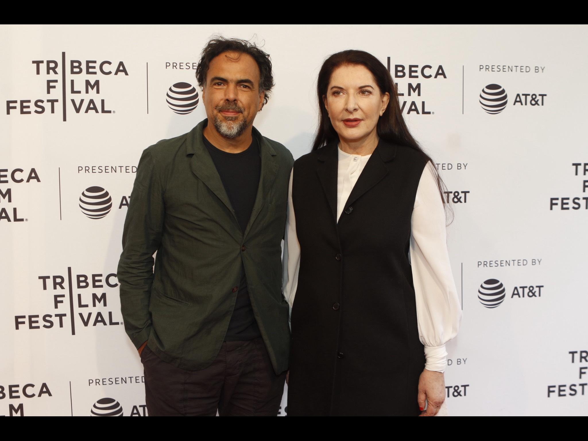 Alejandro González Iñárritu y Marina Abramović