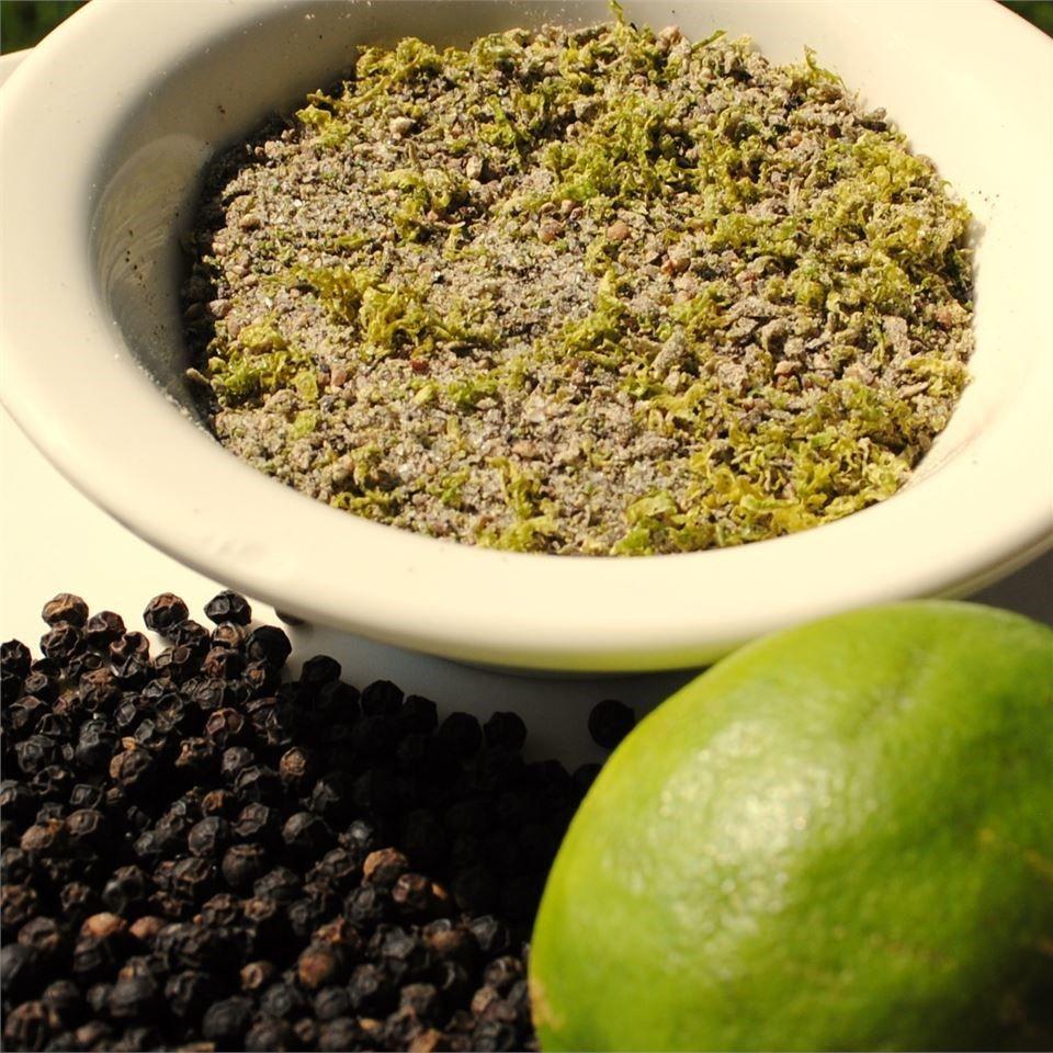 Pimienta con limón persa