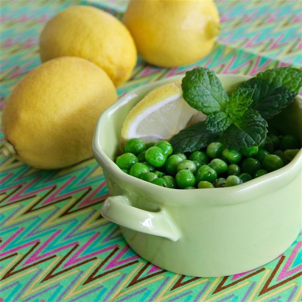 Ensalada de chícharos con limón