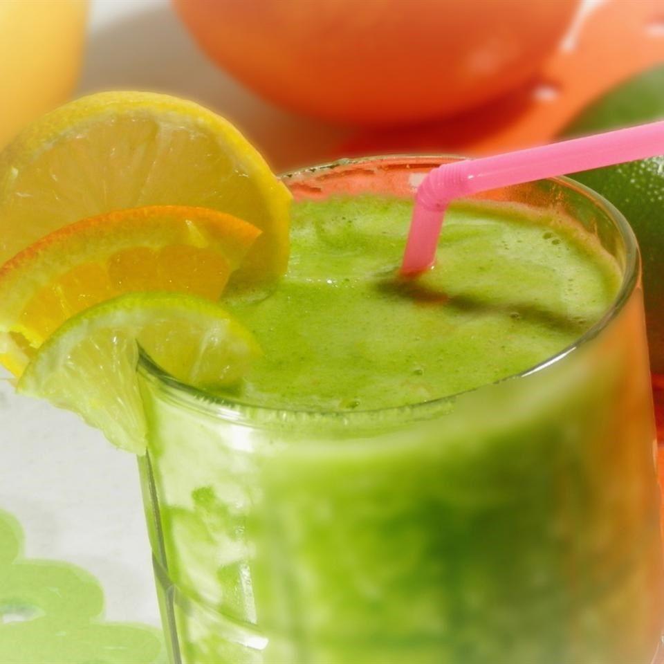 Licuado verde sabor mojito