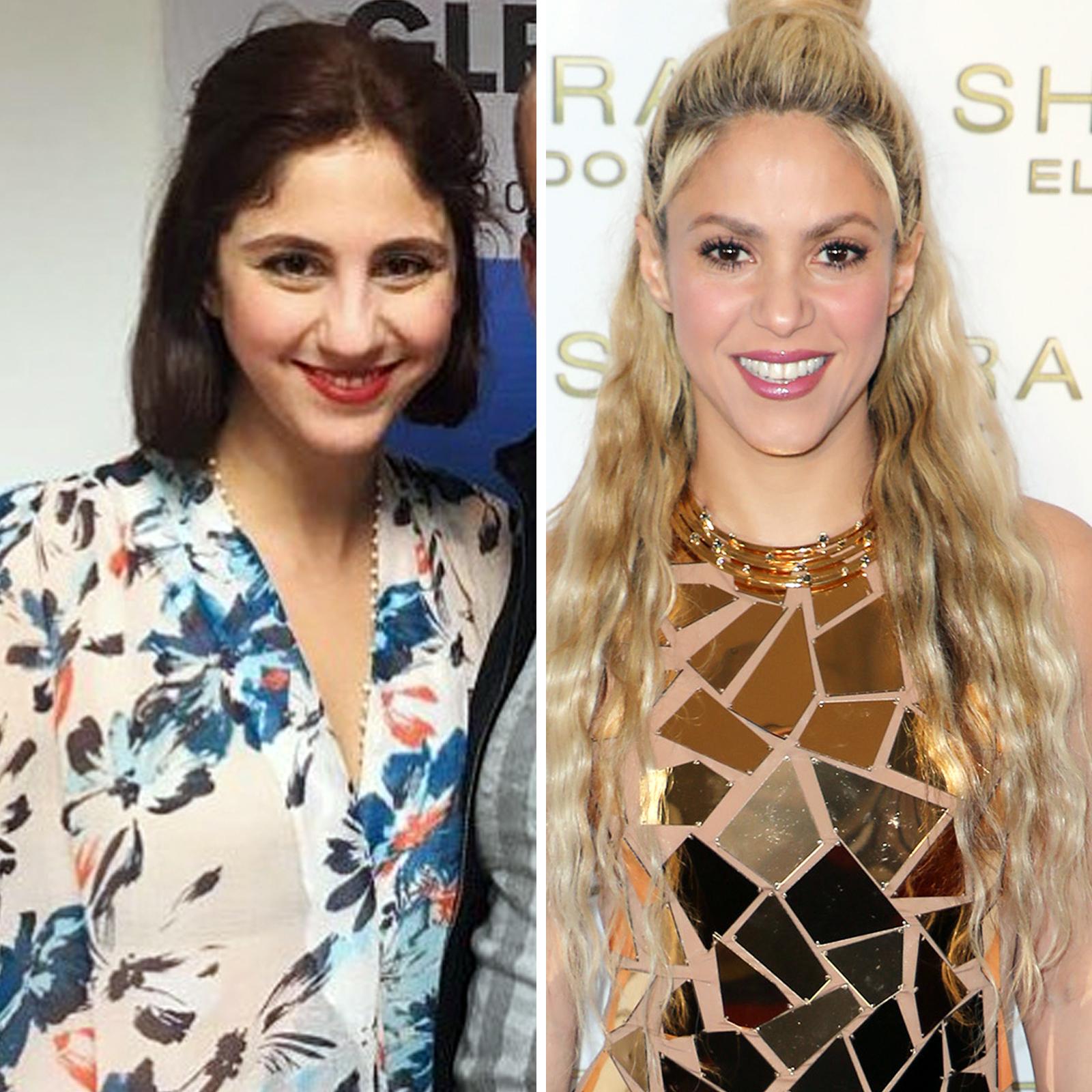 Isa Mebarak y Shakira