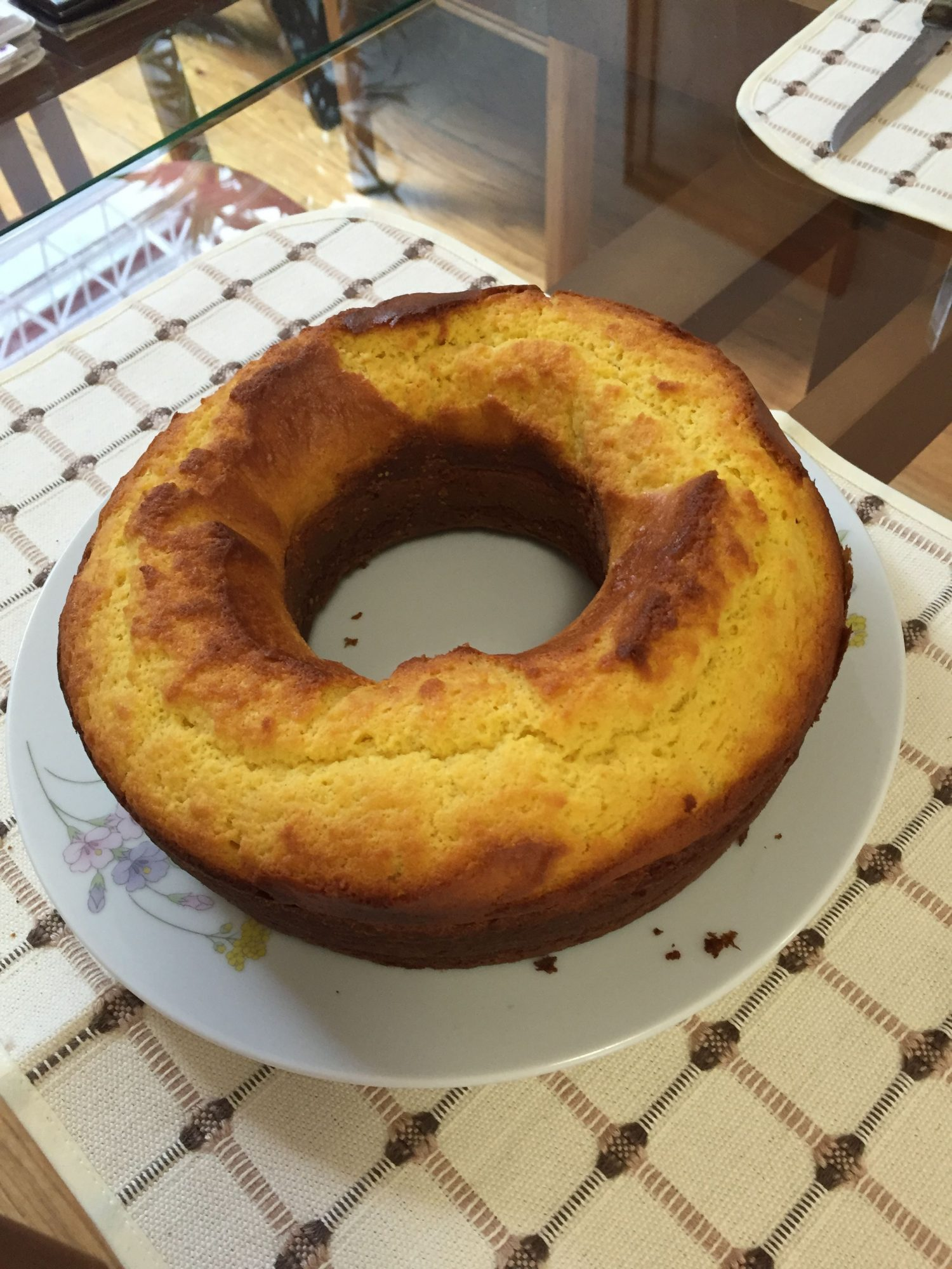 Pan de rompope